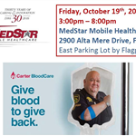 MedStar Blood Drive 10-18 Flyer